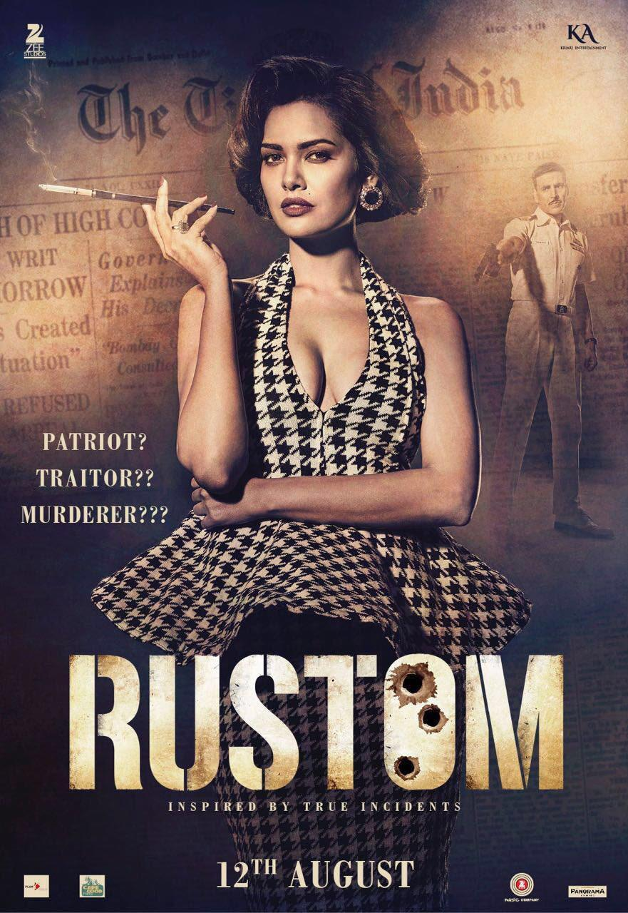 <p>Starring Akshay Kumar, this film gives us a glimpse of Bombay as it was in the 60s. Akshay plays a navy officer in the flick and keeping the plot in mind, the director has cleverly underplayed the sets, costumes and locations, to give full spotlight on the story. However, Team<i> Rustom</i> has managed to maintain the authenticity of the city, without making much noise about it.</p>