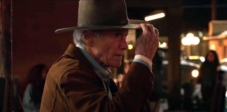 After a long time, Eastwood puts the classic cowboy hat back in a movie