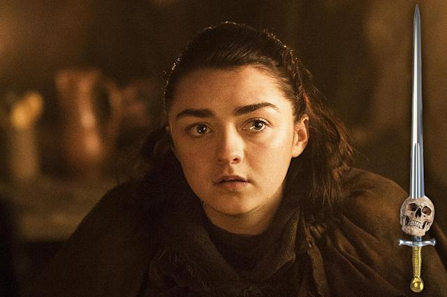 <p>To survive in Westeros, it takes a combination of purpose, skill, charm, and luck. Purpose, Arya learned early: Her List has given her the will to survive. She charmed Syrio Forel, Jaqen H'ghar, and the Hound into protecting her until she could protect herself. She learned the necessary skills to vanquish her foes — and do it without being seen — from the Faceless Men. She may be one of the most dangerous people in Westeros; certainly, she's the hardest to kill.<br><br>(Photo Credit: HBO) </p>