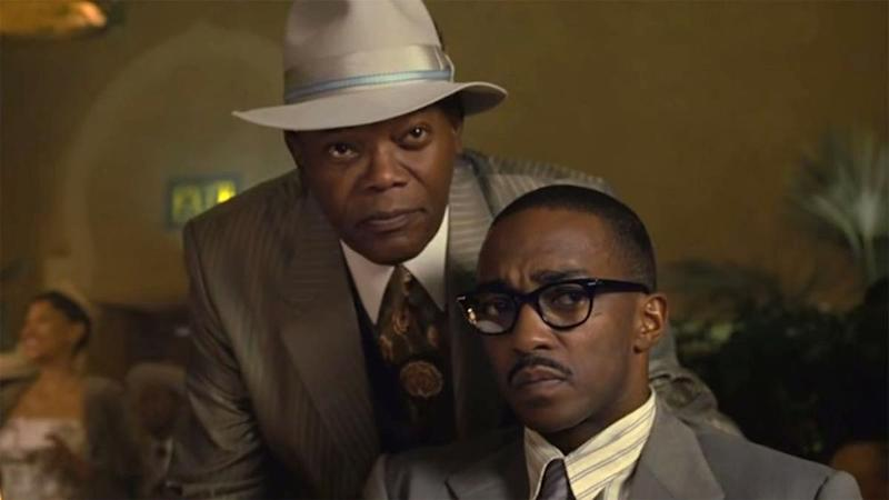 The Banker: Samuel L. Jackson and Anthony Mackie   Courtesy Apple