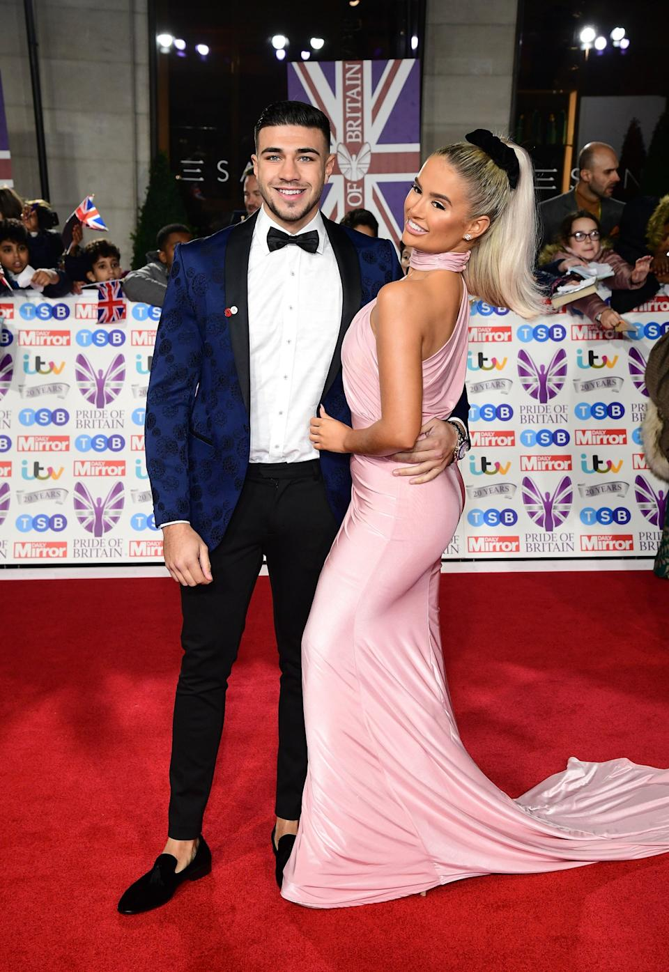 Tommy and Molly-Mae looked every inch the glamourous couple (PA)