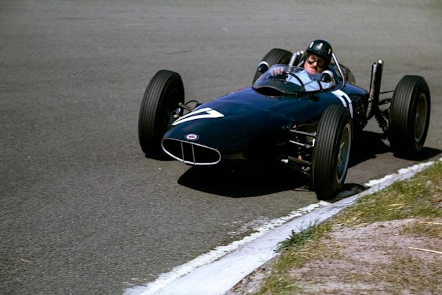<p>Il mitico team British Racing Motors ha corso 197 gran premi, tra gli anni '50, '60 e '70. (foto: Getty Images) </p>