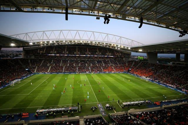 The Estadio do Dragao will host the Champions League final on Saturday