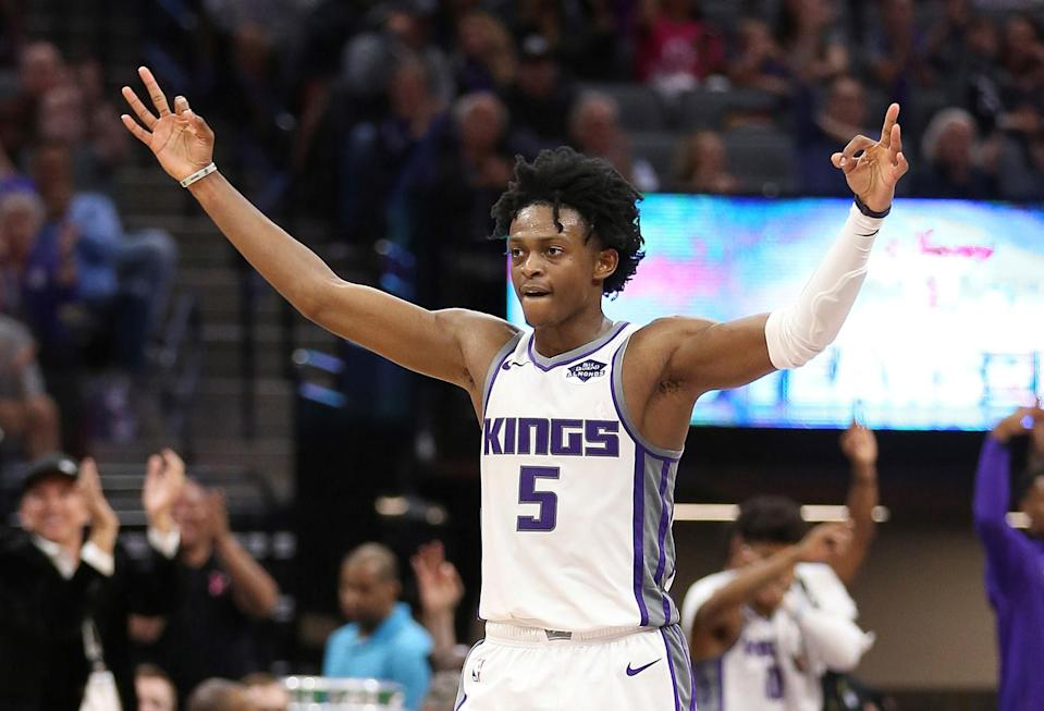 The Kings might just have a special one in De'Aaron Fox. (AP Photo)