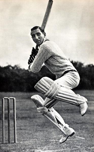 Sport, Cricket, pic: circa 1940's, Nawab of Pataudi, (Iftikhar Ali Khan) 1910-1952, who played in England for Oxford University 1928-1931 and Worcestershire 1932-1938, He captained his native country India's Test Team in 1946 when the Indians toured England  (Photo by Bob Thomas/Popperfoto/Getty Images)