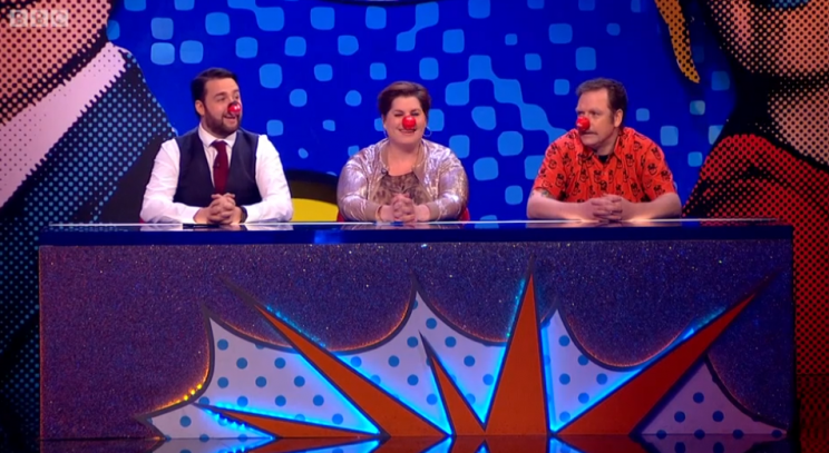 The final panel were Jason Manford, Katy Brand and Rufus Hound