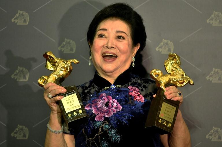Veteran Taiwanese actress Chen Shu-fang won best leading actress for 'Little Big Women' and best supporting actress for 'Dear Tenant'