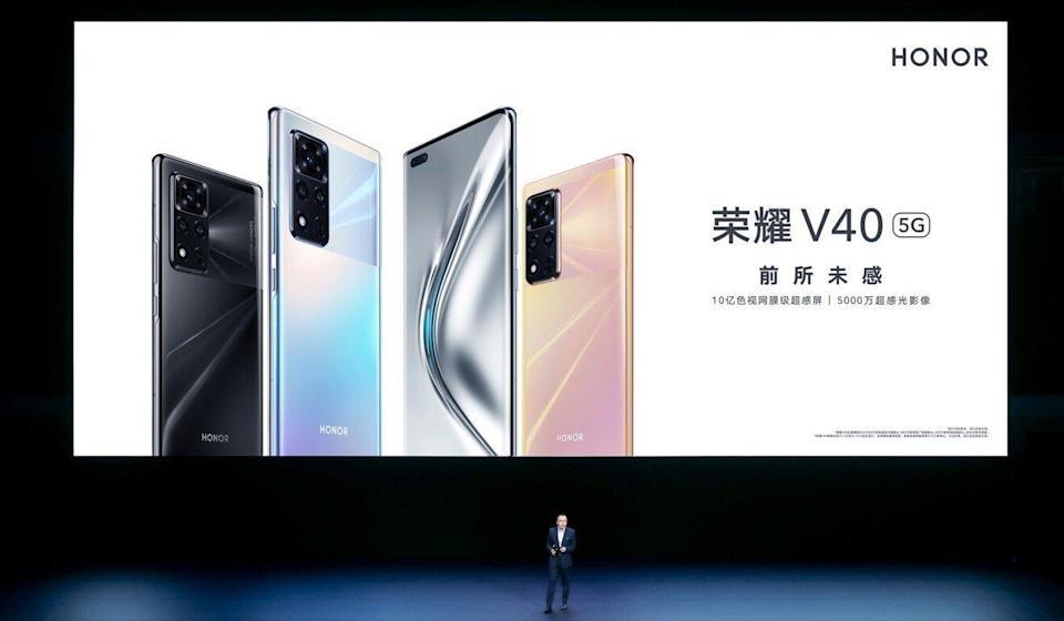 Honor's new View40 smartphone is the first from the brand since being sold by Huawei, which is currently restricted from using US technology after being blacklisted in 2019.