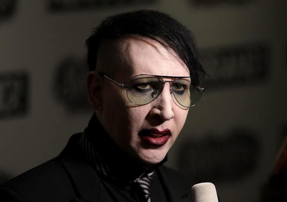 Marilyn Manson. (Danny E. Martindale/Getty Images)