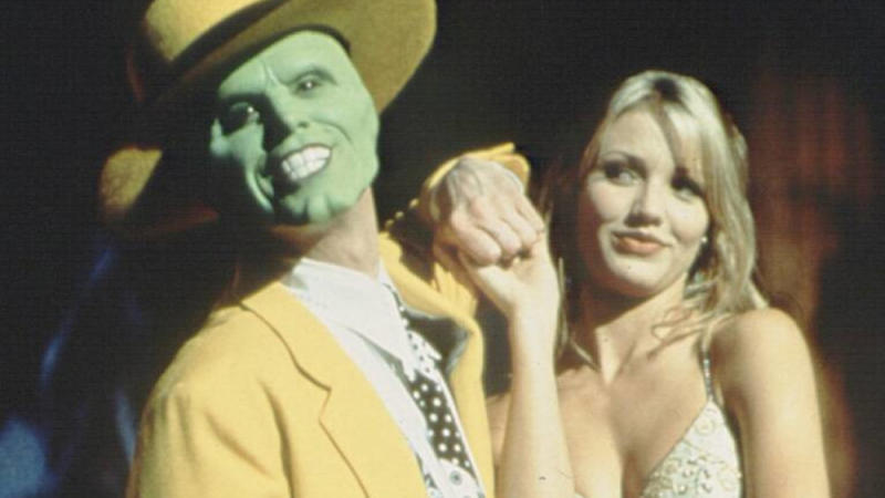 "Jim Carrey und Cameron Diaz in ""Die Maske (Bild: imago images / United Archives)"