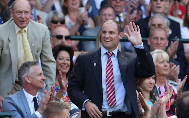 <span>Andrew Strauss is one of the main advocates of the new Twenty20 tournament</span> <span>Credit: AFP </span>