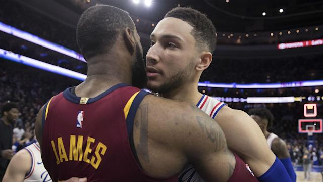 "The Philadelphia 76ers' Ben Simmons says Los Angeles Lakers superstar LeBron James has been like a ""big brother"" since his NBA breakthrough."