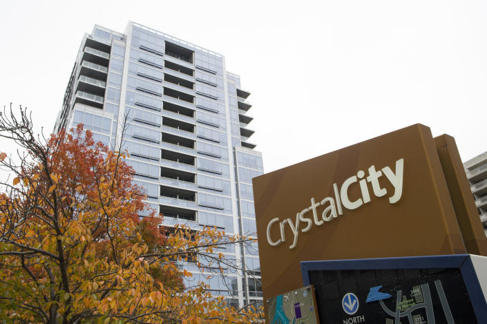 Crystal City in Arlington, Va., will be home to one of Amazon's new headquarters. (Photo: Cliff Owen/AP)