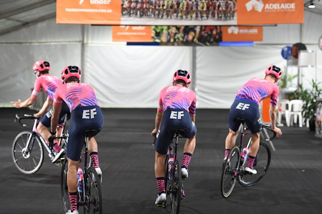 EF Education First at the Tour Down Under