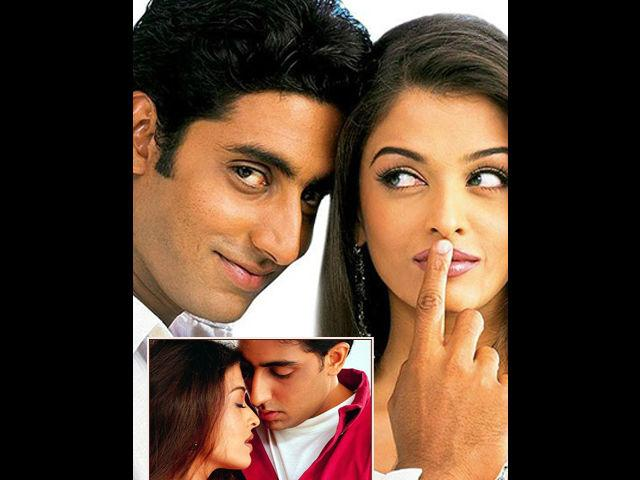 <b>2. Abhishek Bachchan and Aishwarya Rai</b><br> The power couple of Bollywood- Abhishek Bachchan and Aishwarya Rai Bachchan also has this age- angle to their love story. A 37 year Abhishek is two years younger than his wife– Aishwarya. After much speculation concerning their relationship, the couple got married on April 20, 2007. Age difference, Aishwarya's Manglik yoga, or a heart-broken Vivek! There was nothing that could stop the two of them from tying the knot. This is such an adorable couple of Bollywood that their one-year old daughter, Aaradhya, has already become a 'celebrity' much before she can barely understand this term.