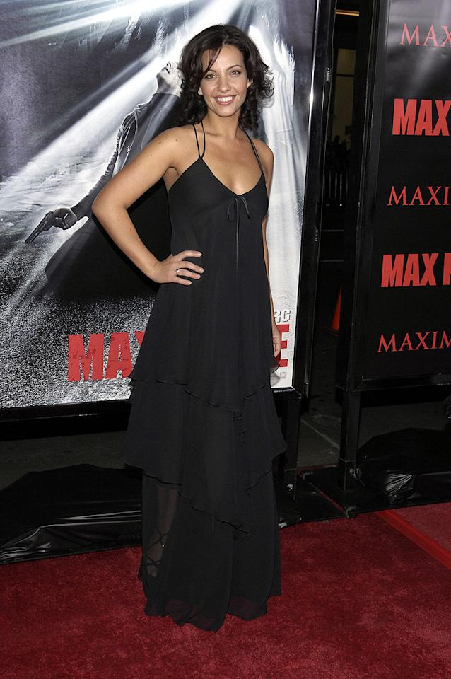 """Marianthi Evans at the Los Angeles premiere of <a href=""""http://movies.yahoo.com/movie/1810007086/info"""">Max Payne</a> - 10/13/2008"""