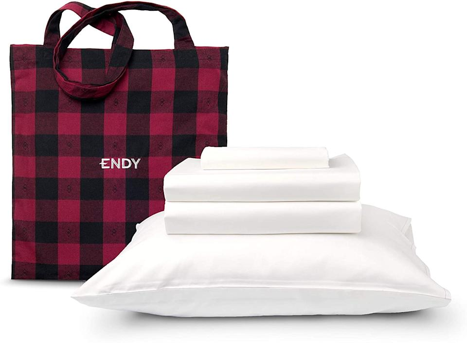 Endy Sheets Set. Image via Amazon