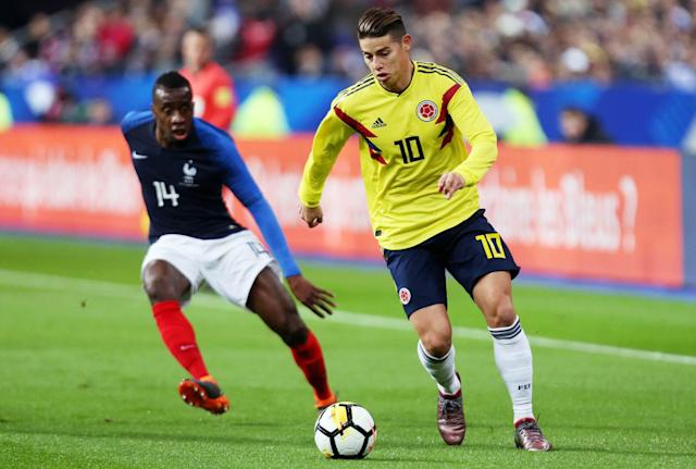 <p>Age: 26 <br>Caps: 62 <br>Position: Winger<br><br>Rodriguez was one of the standout performers of the 2014 World Cup, and will again be the main man as Colombia aim to repeat their heroics of reaching the quarter-finals four years ago. </p>