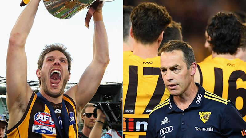 Grant Birchall says he couldn't keep the adorable gift Alastair Clarkson gave him.
