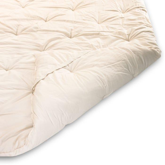 """<h2>Naturepedic Woolly 3"""" Organic Mattress Topper</h2><br>The Woolly is ideal for those seeking a simple solution to their stiff mattress with its layers of thick organic wool. It features an organic cotton fabric finish for an added touch of luxury, without the harmful chemicals. <br><br><strong>Eco-Sleepers Say:</strong> """"Love this topper — like cradling inside a cloud. After a few months, it's held up its shape really well, too, without any fluffing or maintenance. I'm very impressed. Highly recommend!"""" — <em>Lauren</em>, <em>Naturepedic reviewer</em><br><br><em>Shop <strong><a href=""""https://www.naturepedic.com/adult/bedding/mattress-toppers"""" rel=""""nofollow noopener"""" target=""""_blank"""" data-ylk=""""slk:Naturepedic"""" class=""""link rapid-noclick-resp"""">Naturepedic</a></strong></em> <br><br><strong>Naturepedic</strong> Woolly 3"""" Organic Mattress Topper, $, available at <a href=""""https://go.skimresources.com/?id=30283X879131&url=https%3A%2F%2Fwww.naturepedic.com%2Fwoolly-organic-mattress-topper"""" rel=""""nofollow noopener"""" target=""""_blank"""" data-ylk=""""slk:Naturepedic"""" class=""""link rapid-noclick-resp"""">Naturepedic</a>"""