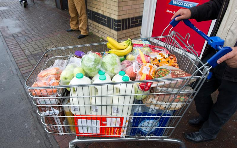 Food prices are rising as the weak pound pushes up import costs - Paul Grover