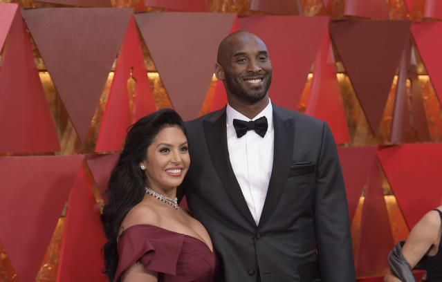 Vanessa Bryant first met Kobe in 1999. (Photo by Richard Shotwell/Invision/AP)