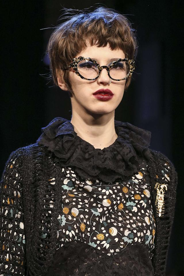 "<p>It's easy for bejeweled anything to become overwhelming. But these gorgeous frames from <a rel=""nofollow"" href=""http://https://www.modaoperandi.com/anna-sui"">Anna Sui</a> feely modern, girl, and royal all at once. A touch of jewels is always refreshing when done properly.</p><p>Buy it <a rel=""nofollow"" href=""https://www.amazon.com/Miu-Cateye-Eyeglasses-Embellished-Stones/dp/B06XHX61YC?ie=UTF8&camp=1789&creative=9325&linkCode=as2&creativeASIN=B06XHX61YC&tag=instycom00-20&ascsubtag=8a9eac7b99d74da0cc6dcf22ca6bb35c"">here</a> for $295.</p>"