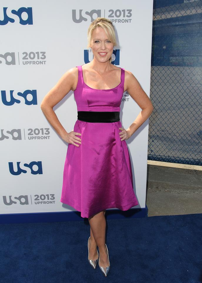 NEW YORK, NY - MAY 16:  Jessica St. Clair attends USA Network 2013 Upfront Event at Pier 36 on May 16, 2013 in New York City.  (Photo by Dave Kotinsky/Getty Images)
