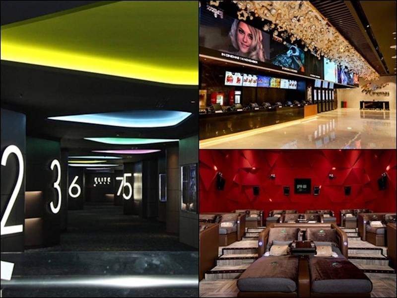 One of the three new cinemas is mmCineplexes MesaMall (pictured left), the first ever cinema in Nilai.