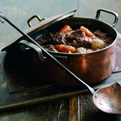 Winter Beef And Chestnut Casserole: Recipe