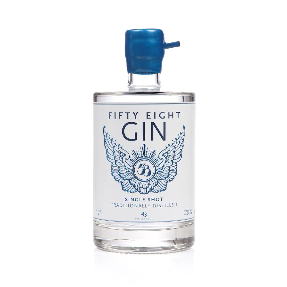 <p>Made with nine botanicals sourced from around the world, including juniper, coriander seed and cubeb peppers, this unique gin is one of the premium varieties in the new range. There's a great story behind the name, too. It's a tribute to the Australian distiller, who created the spirit after moving to London's Hackney at door number 58. </p>