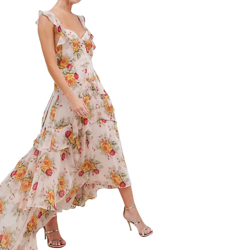 "<a rel=""nofollow"" href=""https://rstyle.me/n/c4ehfnchdw"">Ruffle Maxi Dress, ASOS, $83</a><p>     <strong>Related Articles</strong>     <ul>         <li><a rel=""nofollow"" href=""http://thezoereport.com/fashion/style-tips/box-of-style-ways-to-wear-cape-trend/?utm_source=yahoo&utm_medium=syndication"">The Key Styling Piece Your Wardrobe Needs</a></li><li><a rel=""nofollow"" href=""http://thezoereport.com/culture/zeitgeist/chrissy-teigen-gives-birth-to-baby-boy/?utm_source=yahoo&utm_medium=syndication"">Chrissy Teigen Reveals The Name Of Her Baby Boy</a></li><li><a rel=""nofollow"" href=""http://thezoereport.com/living/work/6-tips-spring-clean-financial-goals/?utm_source=yahoo&utm_medium=syndication"">6 Tips To Spring Clean Your Financial Goals</a></li>    </ul> </p>"