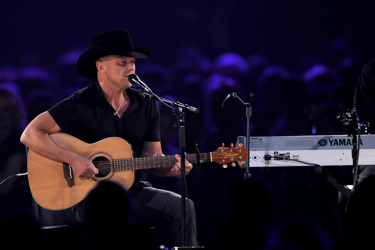 <b>5. Kenny Chesney - $19,148,525.24</b><br><br>Kenny Chesney performs at the MusiCares Person of the Year tribute honoring Bruce Springsteen at the Los Angeles Convention Center.