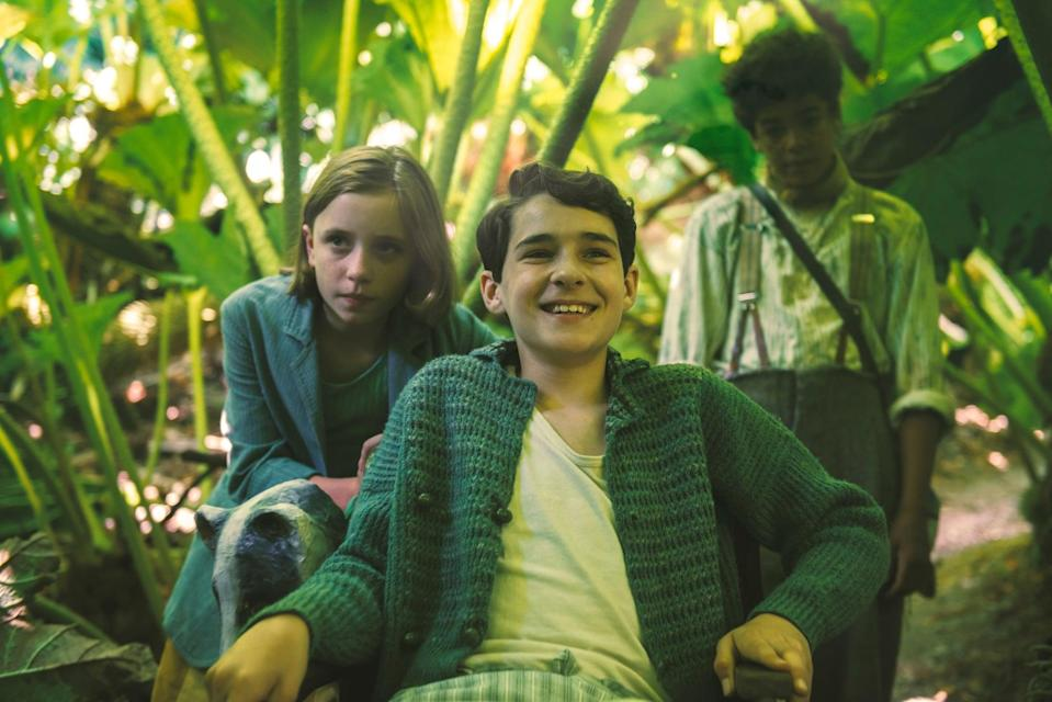 """<p><strong>HBO Max's Description:</strong> """"The story is based on Burnett's 1911 novel, about an orphaned girl who discovers a secret garden in her uncle's home, into which she is adopted. The girl, Mary Lennox, learns about life with the help of her young cousin, a boy who has been hidden away.""""</p> <p><a href=""""https://play.hbomax.com/feature/urn:hbo:feature:GXmZuUA7cayLCHAEAABjF"""" class=""""link rapid-noclick-resp"""" rel=""""nofollow noopener"""" target=""""_blank"""" data-ylk=""""slk:Watch The Secret Garden on HBO Max here!"""">Watch <strong>The Secret Garden</strong> on HBO Max here!</a></p>"""