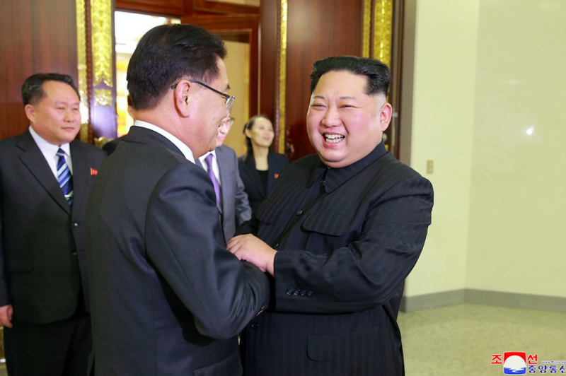 Kim Jong Un hints he will discuss giving up his nuclear arms