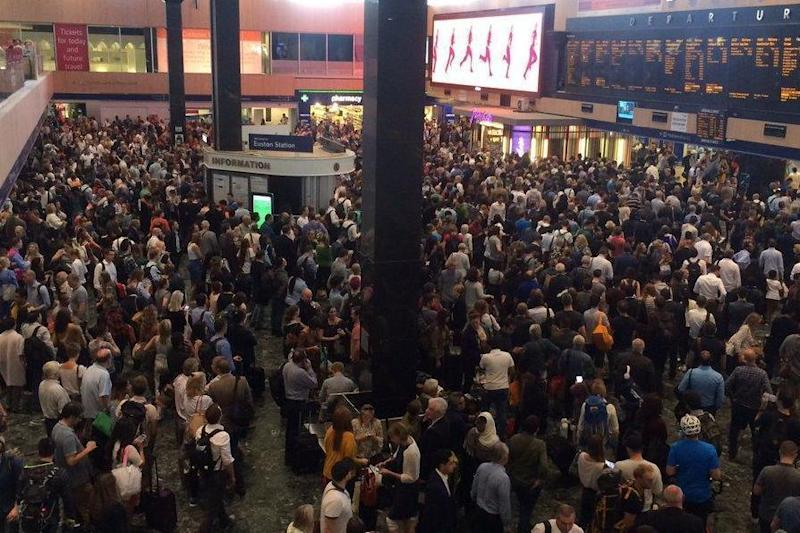 Euston: The transport hub is one of the stations closing over the weekend