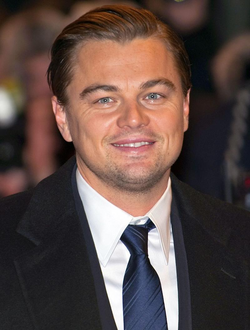 Age has nothing on the famous Leonardo DiCaprio as he looks amazing in a black well-tailored suit