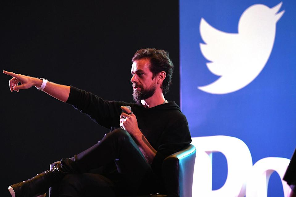 Twitter CEO and co-founder Jack Dorsey has pledged millions of pounds to help fight coronavirus (AFP via Getty Images)