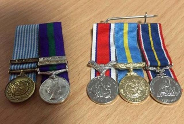 Search for mystery veteran who left war medals on train