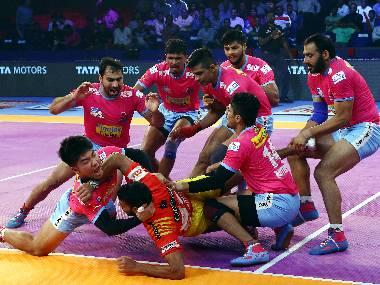 Pro Kabaddi 2018, Jaipur Pink Panthers vs Haryana Steelers, Highlights: Rajasthan outfit keeps season alive with 38-32 win