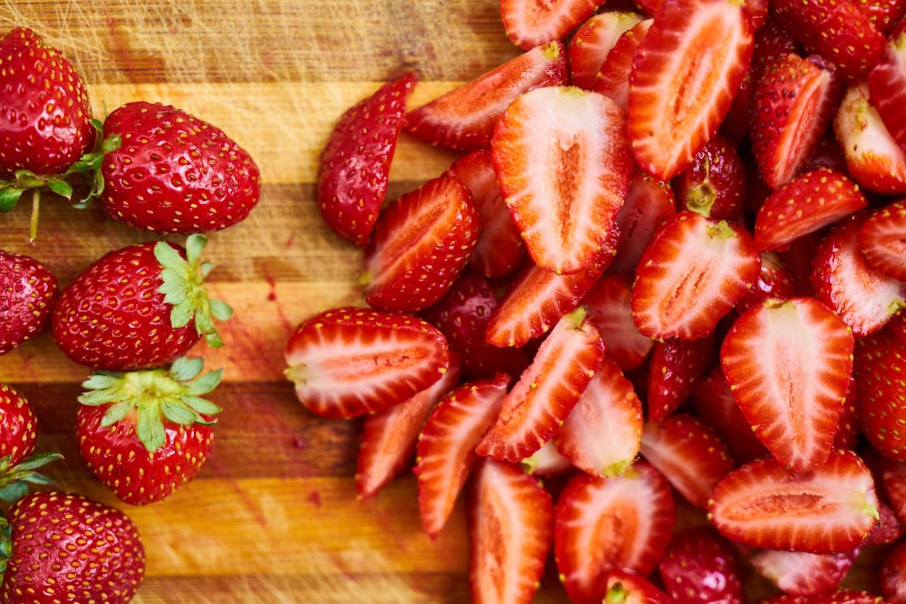 <p>Strawberries are rich in phytochemicals and vitamin C, which neutralize the effect of free radicals. The brain activity gets affected by the free radicals and consuming strawberries can help in avoiding the effects of the oxidants. The fruit also contains iodine, which helps in proper brain functioning. Potassium present in strawberries improves blood circulation in the brain, enhancing cognitive function. </p>