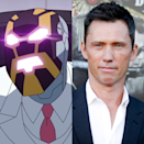 "<p><em>Burn Notice</em> fans may not have recognized their man's voice through all the distortion, but <em>Invincible's</em> first big crime lord villain was voiced by <a href=""https://www.menshealth.com/entertainment/a36095811/machine-head-invincible-voice/"" rel=""nofollow noopener"" target=""_blank"" data-ylk=""slk:Donovan"" class=""link rapid-noclick-resp"">Donovan</a>. Donovan is best known for his longtime role on Burn Notice, but has also appeared in both <em>Sicario</em> movies and did a great job in Season 2 of FX's <em>Fargo</em>.</p>"