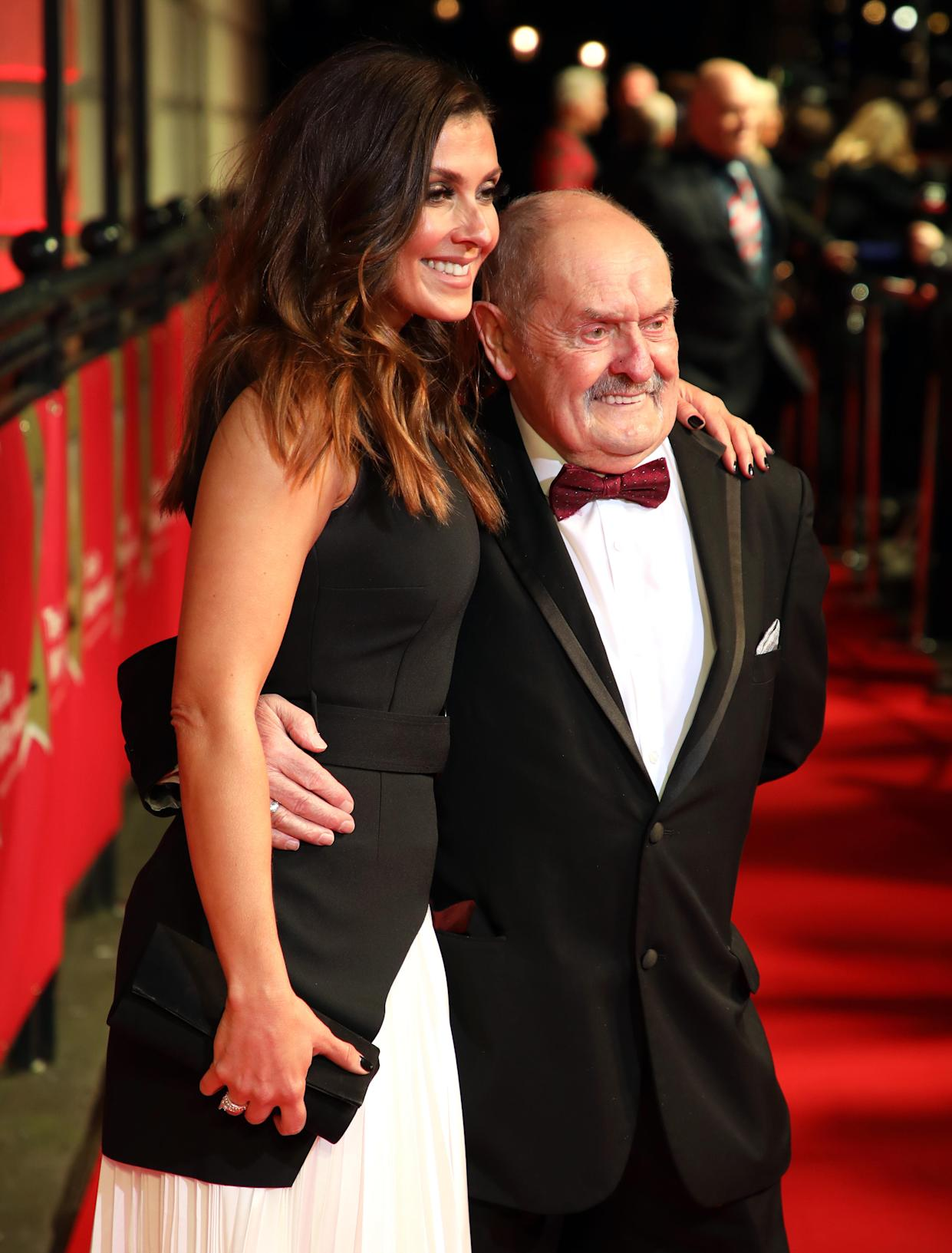 Kym Marsh and David Marsh attending The Sun Military Awards 2020 held at the Banqueting House, London. (Photo by David Parry/PA Images via Getty Images)
