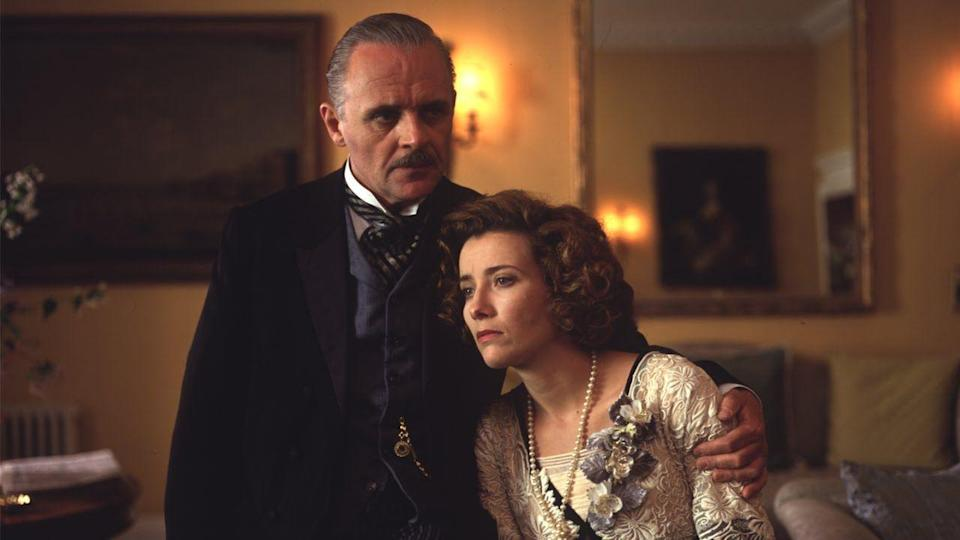 "<p>This lush Merchant-Ivory adaptation of the classic E.M. Forster novel follows two families with opposing worldviews who are thrust together when their children become romantically attached.</p><p><a class=""link rapid-noclick-resp"" href=""https://www.netflix.com/watch/60029366?trackId=13752289&tctx=0%2C0%2Cf7e628b2-edb1-4b74-a066-725372b4ec19-103246480%2C%2C"" rel=""nofollow noopener"" target=""_blank"" data-ylk=""slk:Watch Now"">Watch Now</a></p>"