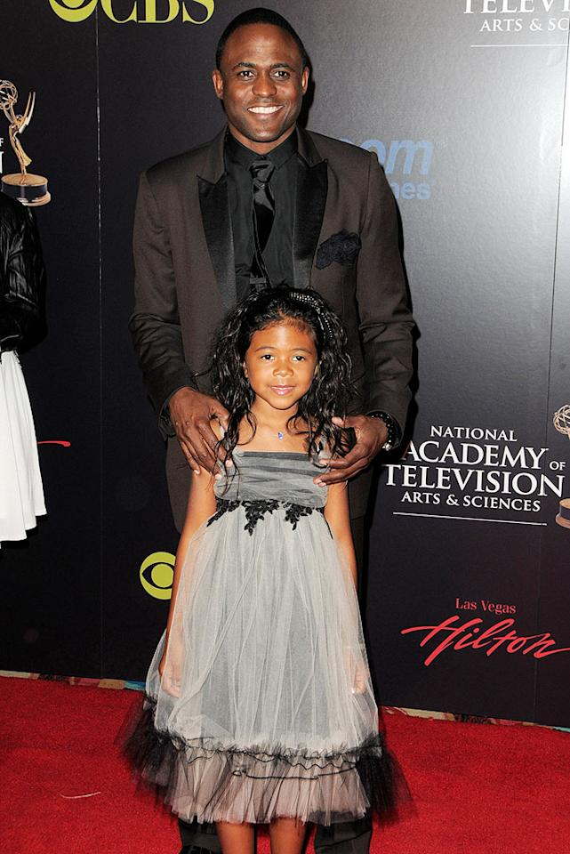 """Vegas, baby. Literally. """"Let's Make A Deal"""" host Wayne Brady took his little princess, Maile Masako, 7, to the 37th Annual Daytime Emmy Awards in Las Vegas this year. Jordan Strauss/<a href=""""http://www.wireimage.com"""" target=""""new"""">WireImage.com</a> - June 27, 2010"""