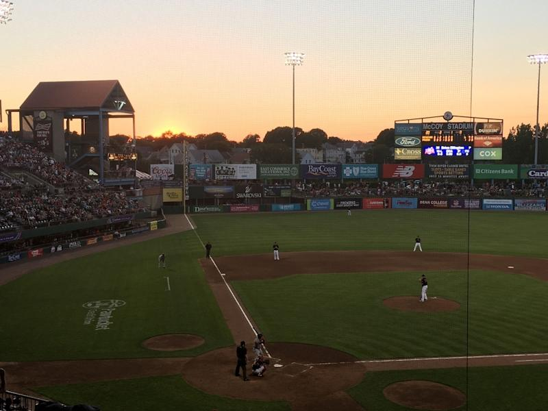 The Pawtucket Red Sox's farewell season at McCoy Stadium was canceled due to the coronavirus pandemic.