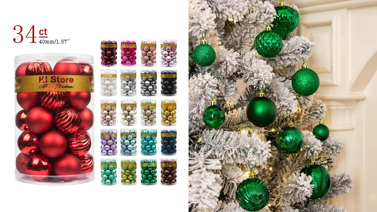 These shatterproof ornaments are a cult favorite on Amazon.