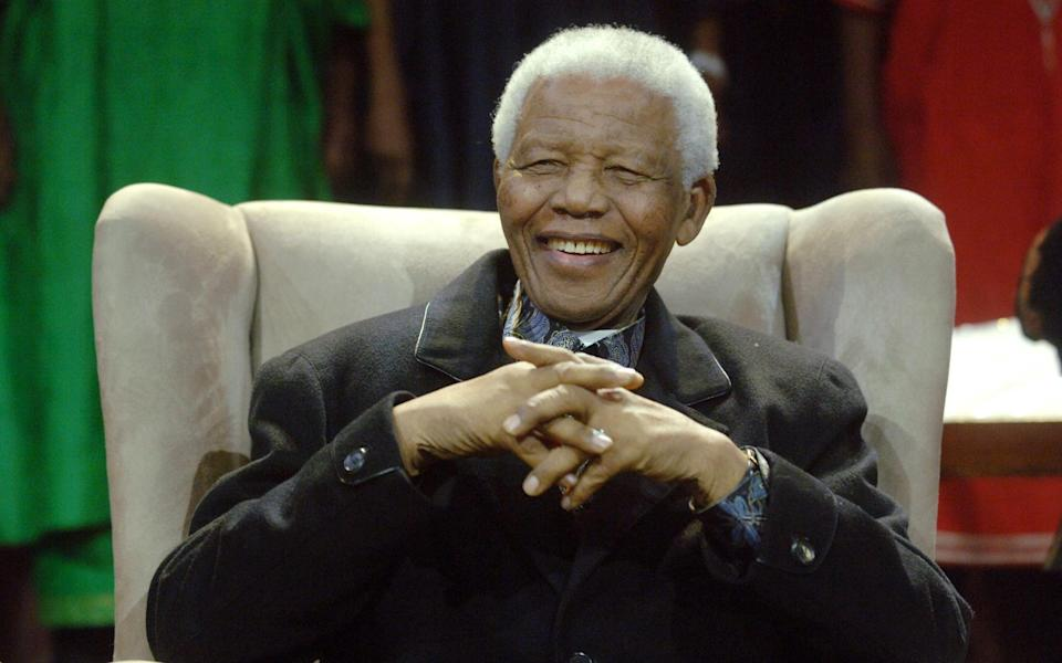 Nelson Mandela's old home in Johannesburg will soon be reopening as a five-star boutique hotel - AFP