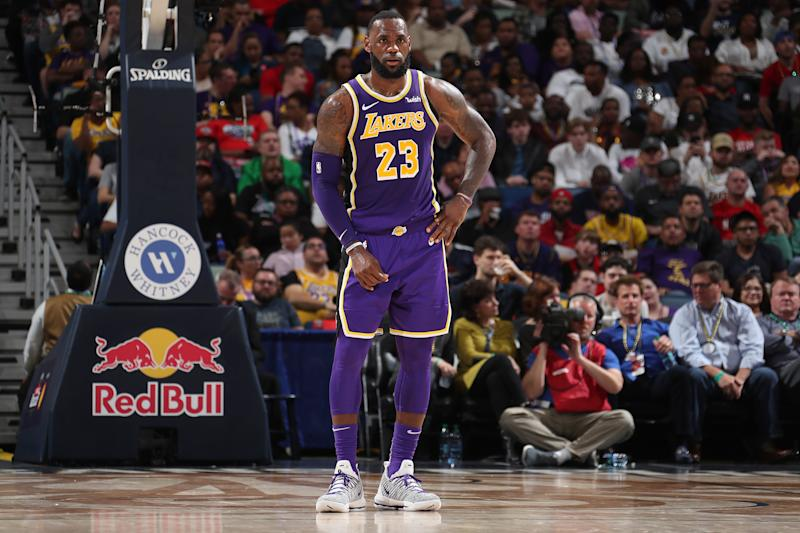 LeBron James questions Lakers' 'sense of urgency' after team collects 30th loss of the season