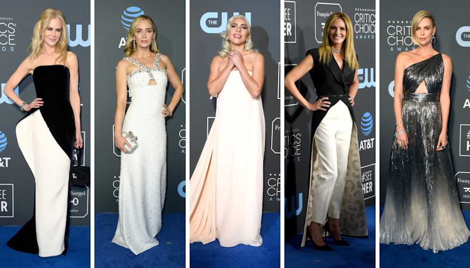 <p>The stars came out in full force in Los Angeles for the 2019 Critics' Choice Awards. </p>